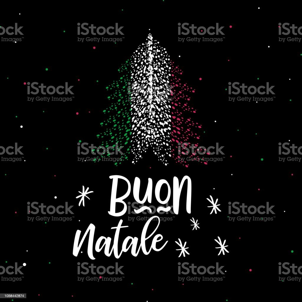 christmas tree and italian flag merry christmas and happy new year royalty free christmas