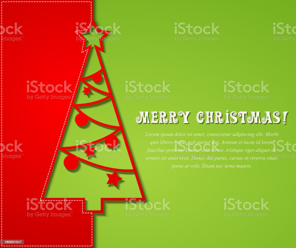 Christmas tree background royalty-free christmas tree background stock vector art & more images of abstract