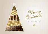 Christmas Tree Background - Illustration