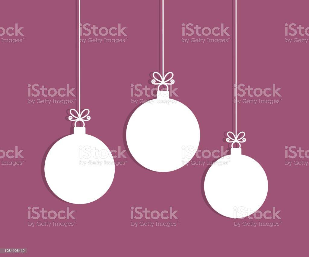 Christbaumkugeln Polen.Christbaumkugeln Hängende Ornamente Stock Vektor Art Und Mehr Bilder