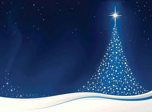 weihnachtsbaum-karte - firmenweihnachtsfeier stock-grafiken, -clipart, -cartoons und -symbole