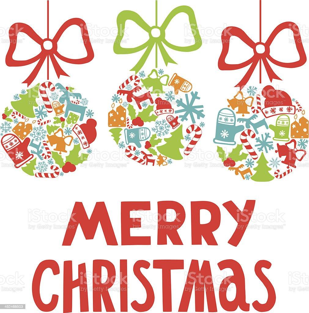Decorazioni Di Natale Disegni.Albero Di Natale Decorazione Di Gioielli Con Diversi Elementi Di