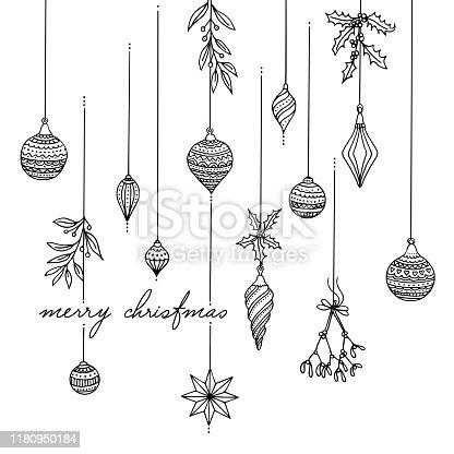 istock Christmas tree decoration 1180950184