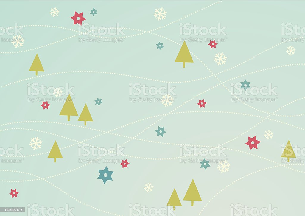Christmas tree design royalty-free stock vector art
