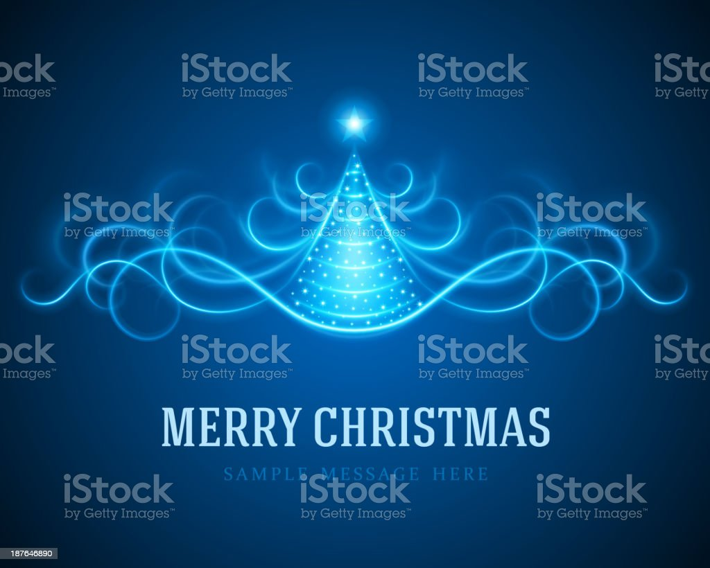 Christmas tree from light lines background royalty-free christmas tree from light lines background stock vector art & more images of backgrounds