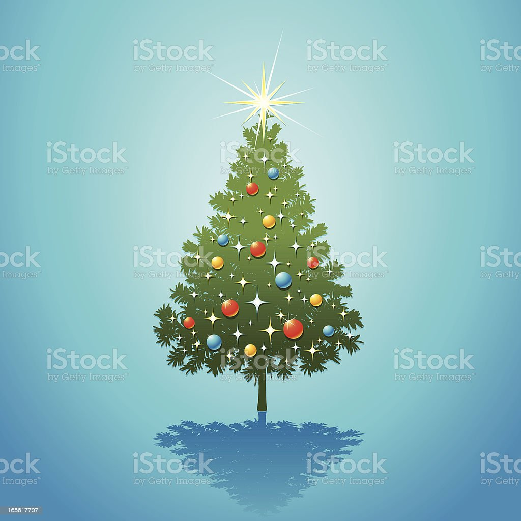 Christmas Tree Green royalty-free christmas tree green stock vector art & more images of abstract
