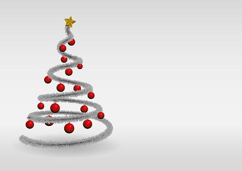 Christmas tree greeting card arbol de navidad