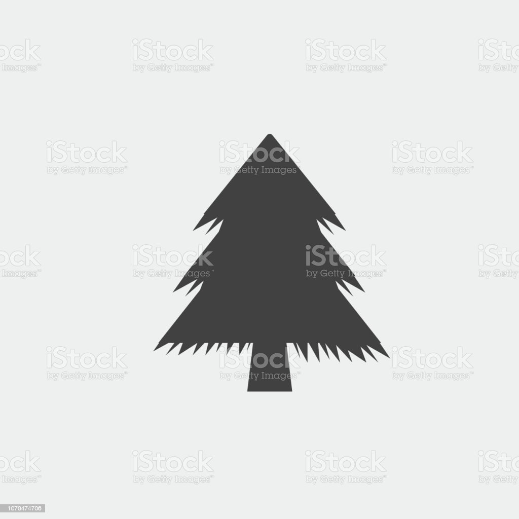 Christmas Tree Icon.Christmas Tree Icon Xmas Tree Symbol New Year Icon Stock