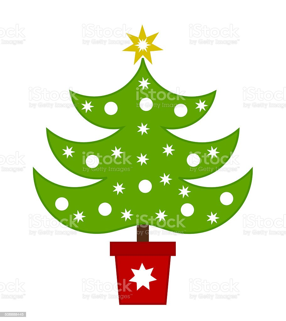 Christmas tree illustration royalty-free christmas tree illustration stock vector art & more images of cartoon