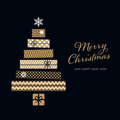 Christmas Tree Illustration Stock Illustration - Download Image Now