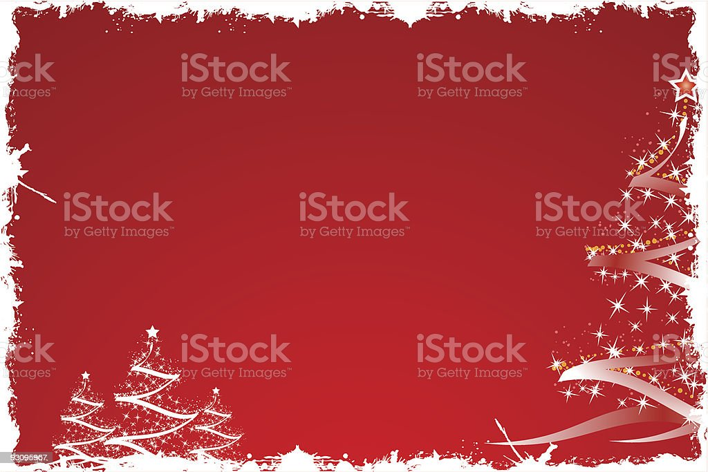 Christmas tree in red royalty-free christmas tree in red stock vector art & more images of abstract