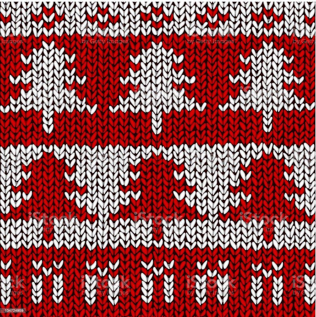 Christmas Tree Jumper royalty-free stock vector art