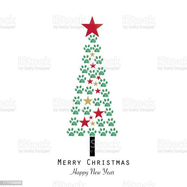 Christmas tree made with paw print happy new year and mery christmas vector id1172206369?b=1&k=6&m=1172206369&s=612x612&h=mmjqbnvhqozwpy decgkzygfx gj 7l6d5ek81mppee=