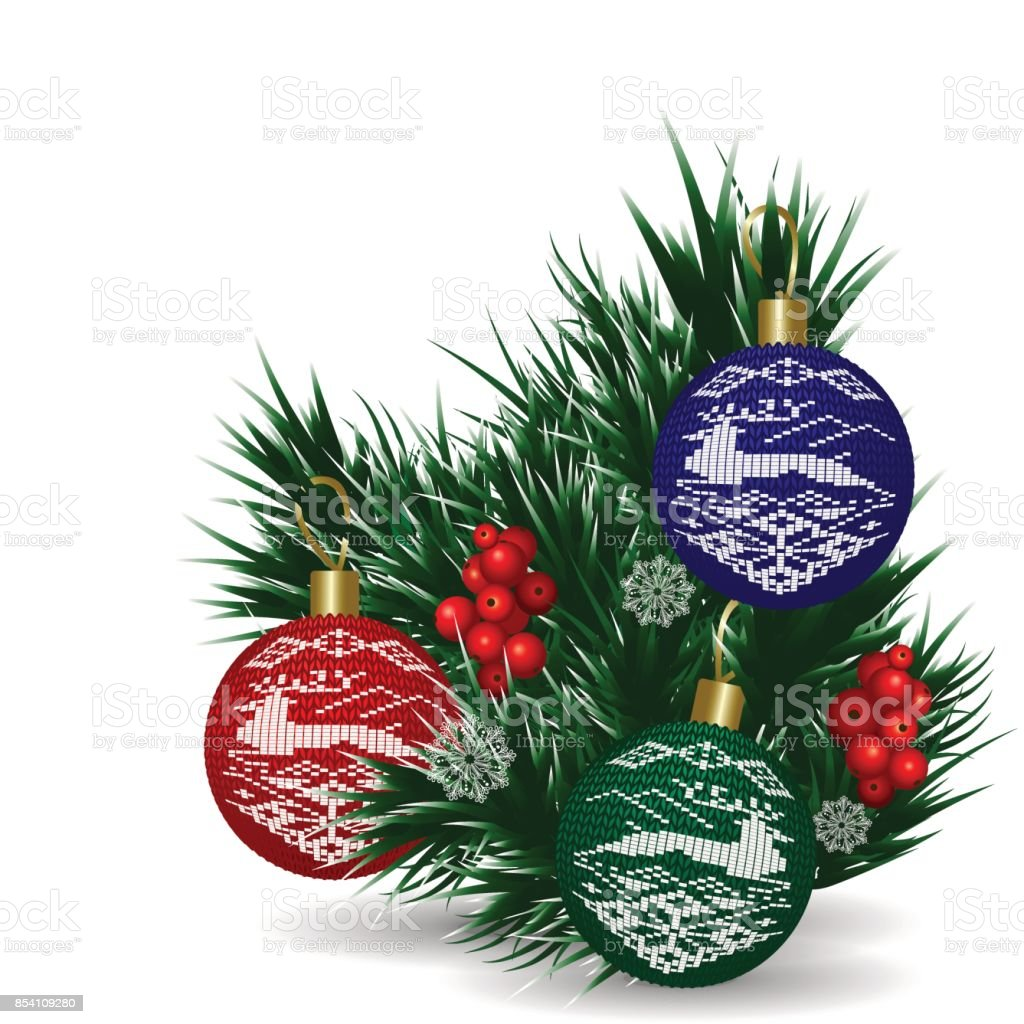 Christmas Tree Norwegian Pattern Stock Vector Art & More Images of ...
