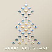 Celebrate the Christmas with Christmas tree paperart