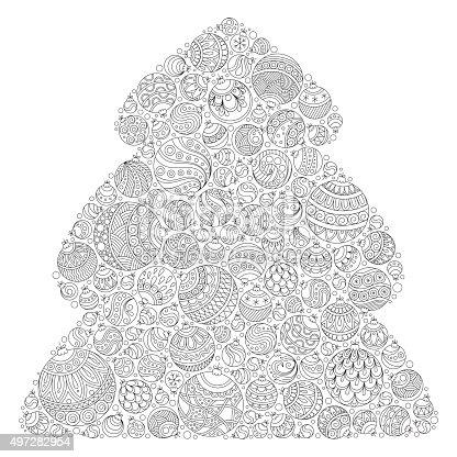 istock Christmas frame de snowflakes para tarjeta vector 496122146 ...