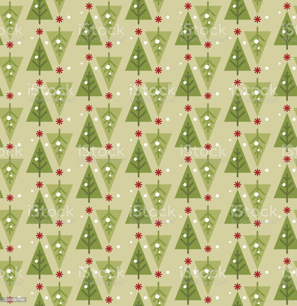 christmas tree seamless pattern merry christmas happy new year vector background royalty