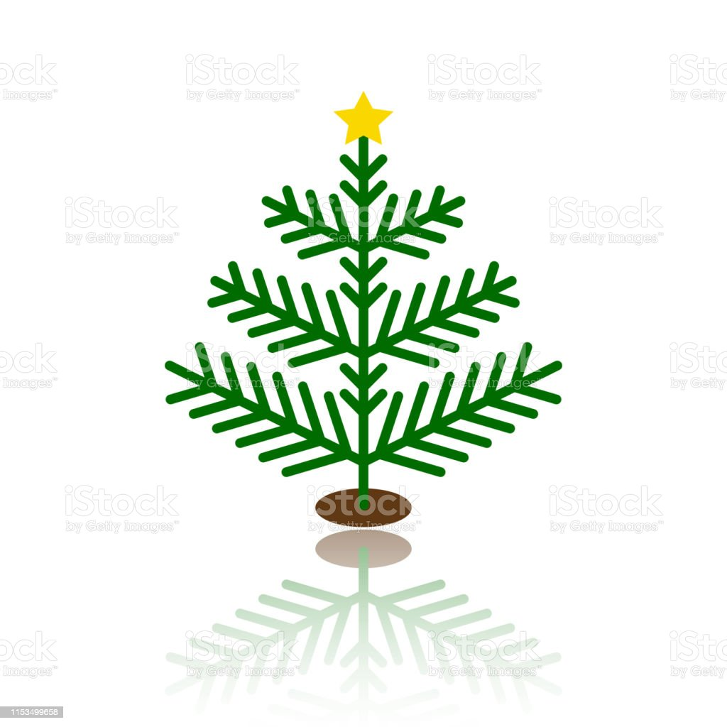 Download Christmas Tree Cartoon Simple