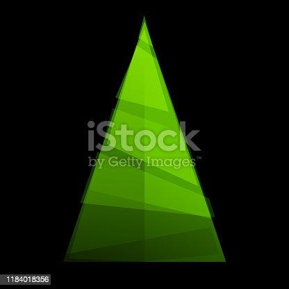 istock Christmas tree simplified 1184018356