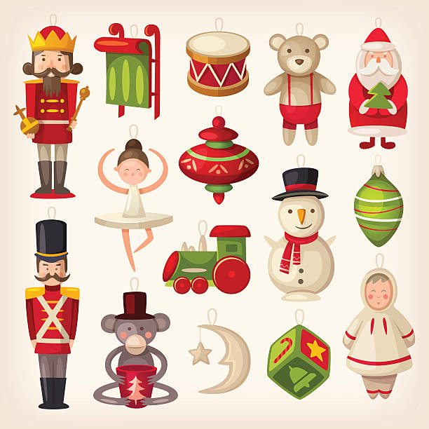 Christmas Toys Clip Art : Royalty free stuffed animal toy clip art vector images