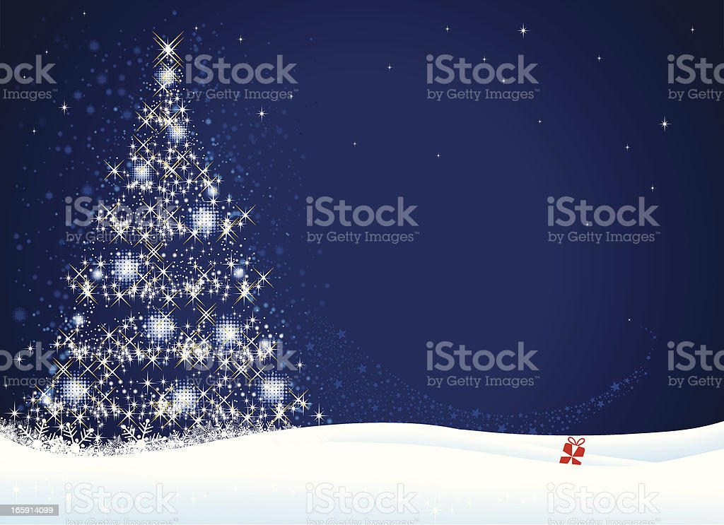 Christmas Tree royalty-free christmas tree stock vector art & more images of art and craft