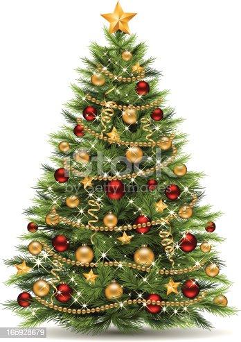 istock Christmas Tree 165928679