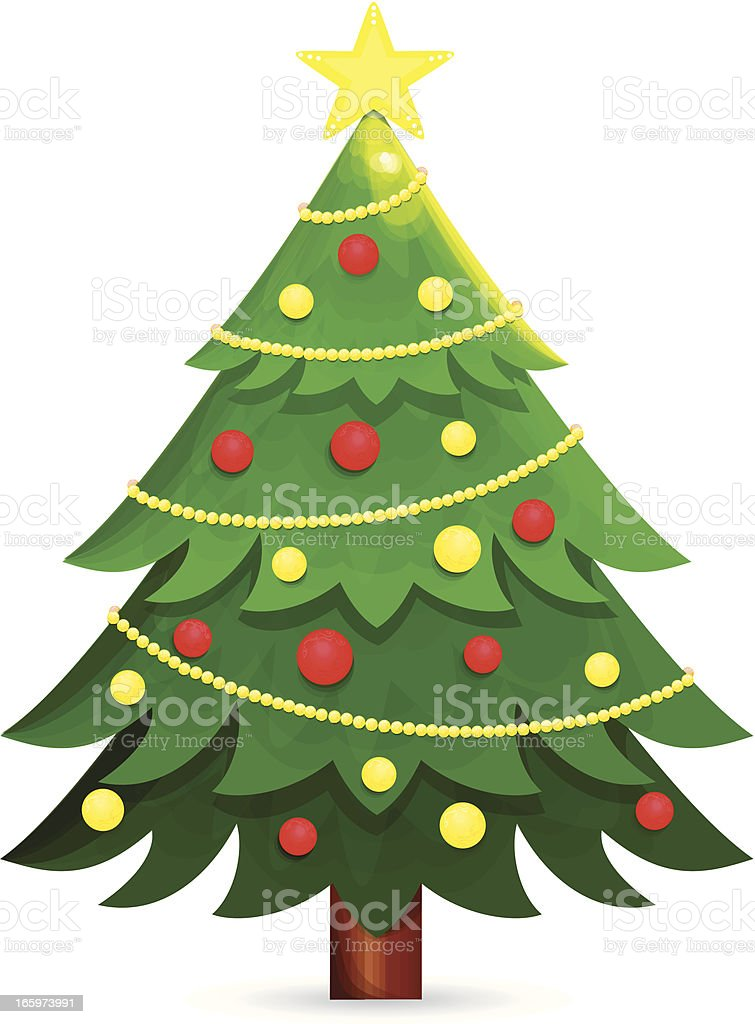 christmas tree clip art vector images amp illustrations