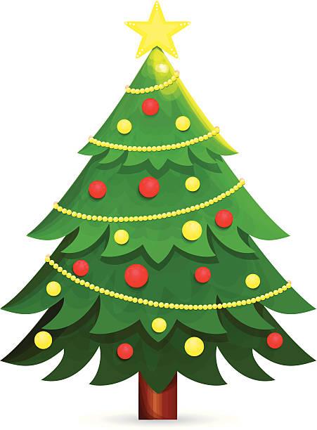christmas tree clip art vector images illustrations. Black Bedroom Furniture Sets. Home Design Ideas
