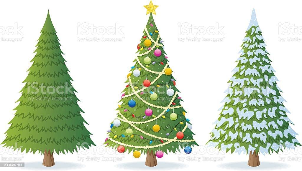 Christmas Weihnachtsbaum - Lizenzfrei Abendball Vektorgrafik