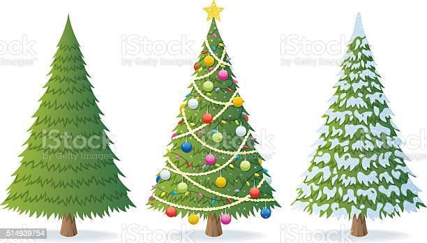 Christmas Weihnachtsbaum Stock Vektor Art und mehr Bilder von Abendball