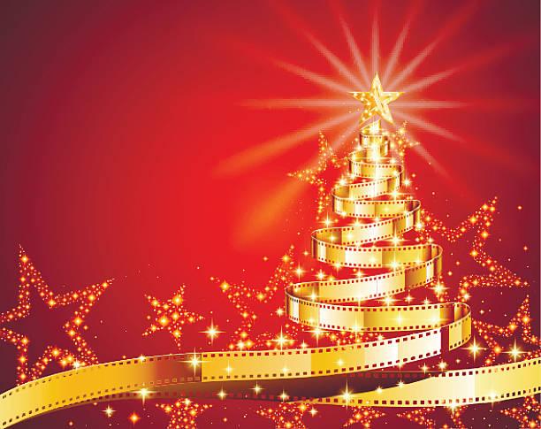 illustrazioni stock, clip art, cartoni animati e icone di tendenza di albero di natale  - christmas movie