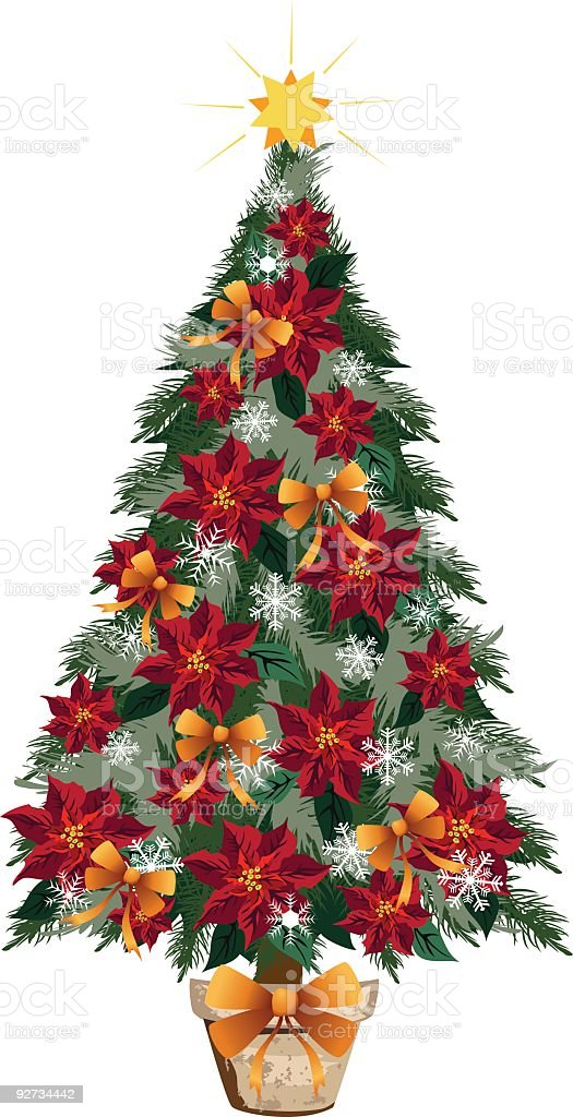 Christmas Tree royalty-free christmas tree stock vector art & more images of celebration
