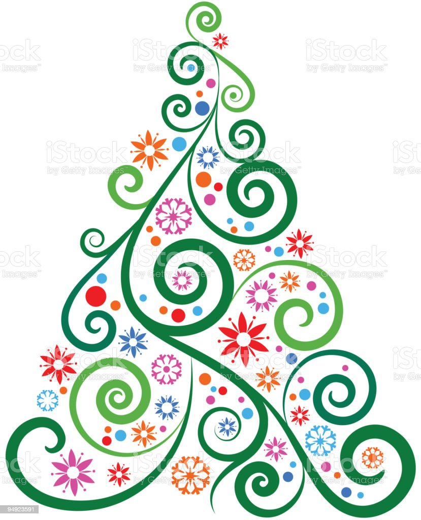 Christmas tree http://lh6.ggpht.com/_euy0FpDj2NM/TMb_pthlYMI/AAAAAAAABD8/M_-BzykzHNk/s800/magic%20Xmas.jpg Abstract stock vector