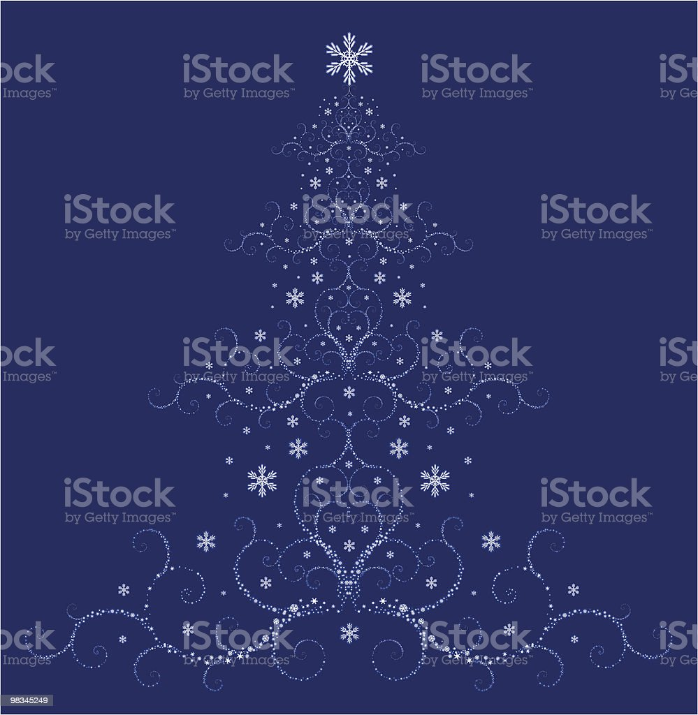 Christmas Tree royalty-free christmas tree stock vector art & more images of abstract