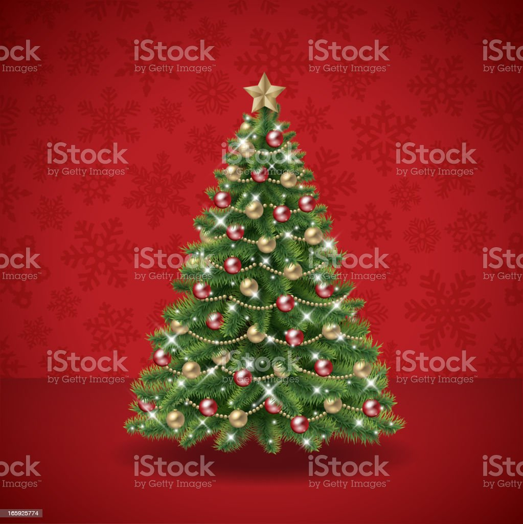 Christmas tree vector royalty-free christmas tree vector stock vector art & more images of backgrounds