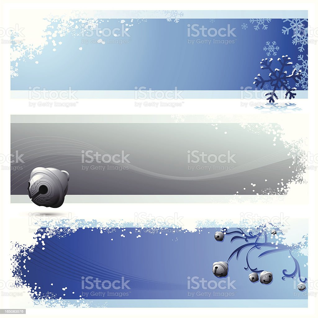 Christmas Tri - Panels royalty-free christmas tri panels stock vector art & more images of 2007