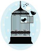 Christmas Tweety Birds