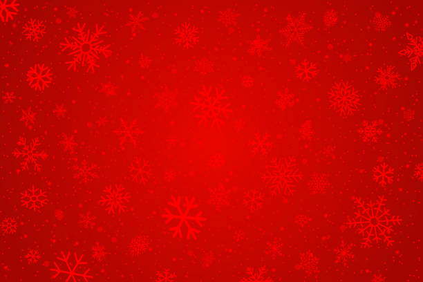 Christmas vector background Snowflakes background christmas backgrounds stock illustrations