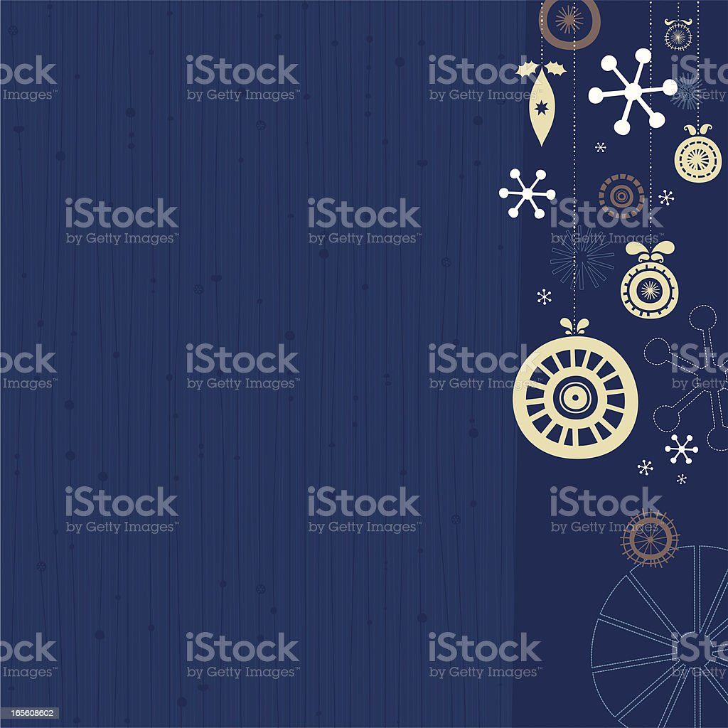 Christmas vector background royalty-free stock vector art