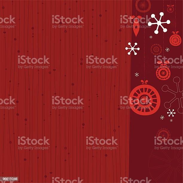 Christmas Vector Background-vektorgrafik och fler bilder på Bildbakgrund