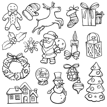 Christmas Vector Doodles