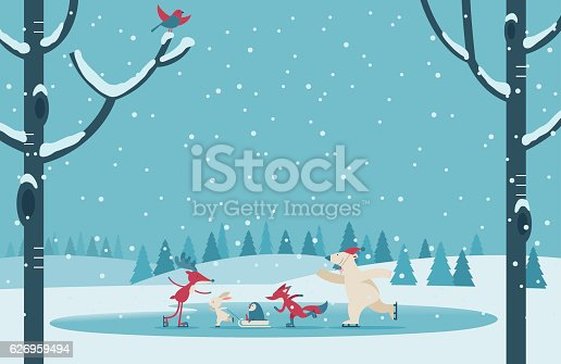 Vector illustration - Christmas