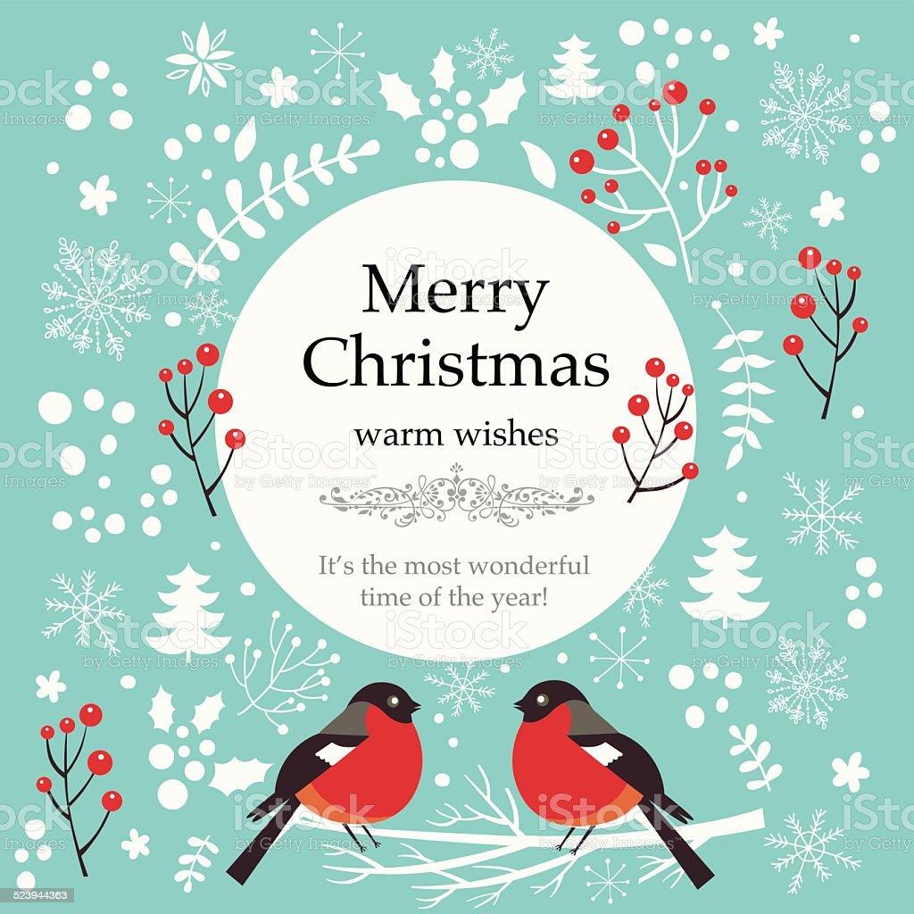 Christmas vector illustration vector art illustration