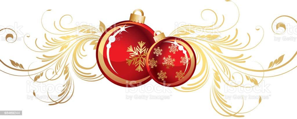 Christmas vignette royalty-free stock vector art