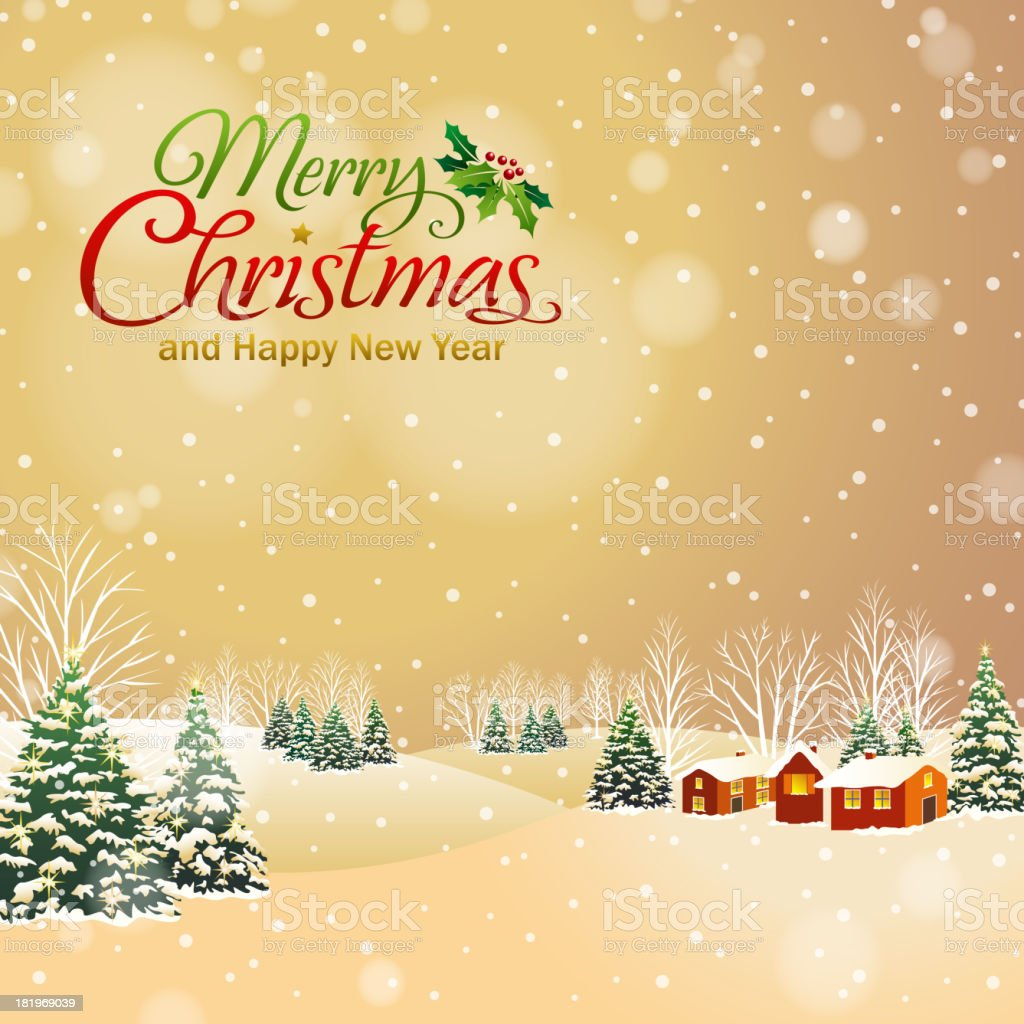 Christmas Village royalty-free christmas village stock vector art & more images of backgrounds