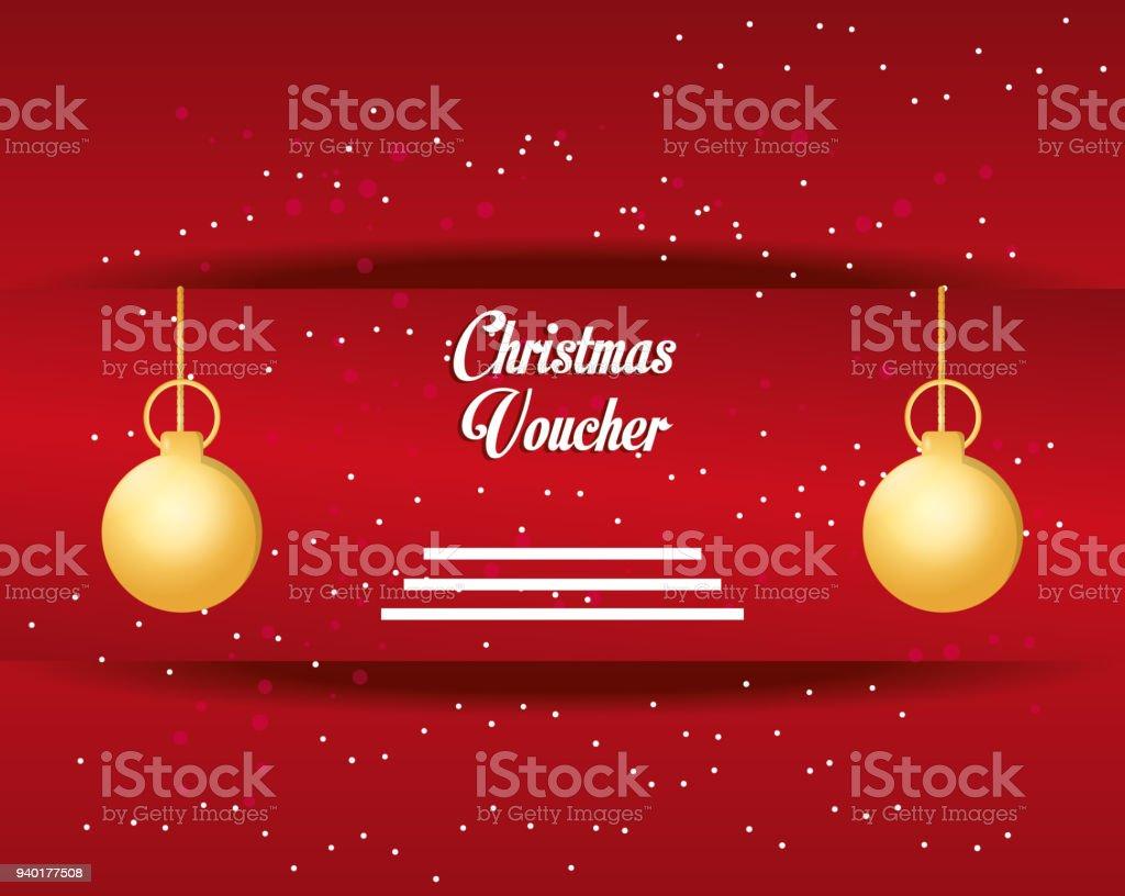 Weihnachtsmotive Zum Kopieren.Weihnachtsmotiv Gutschein Stock Vektor Art Und Mehr Bilder Von
