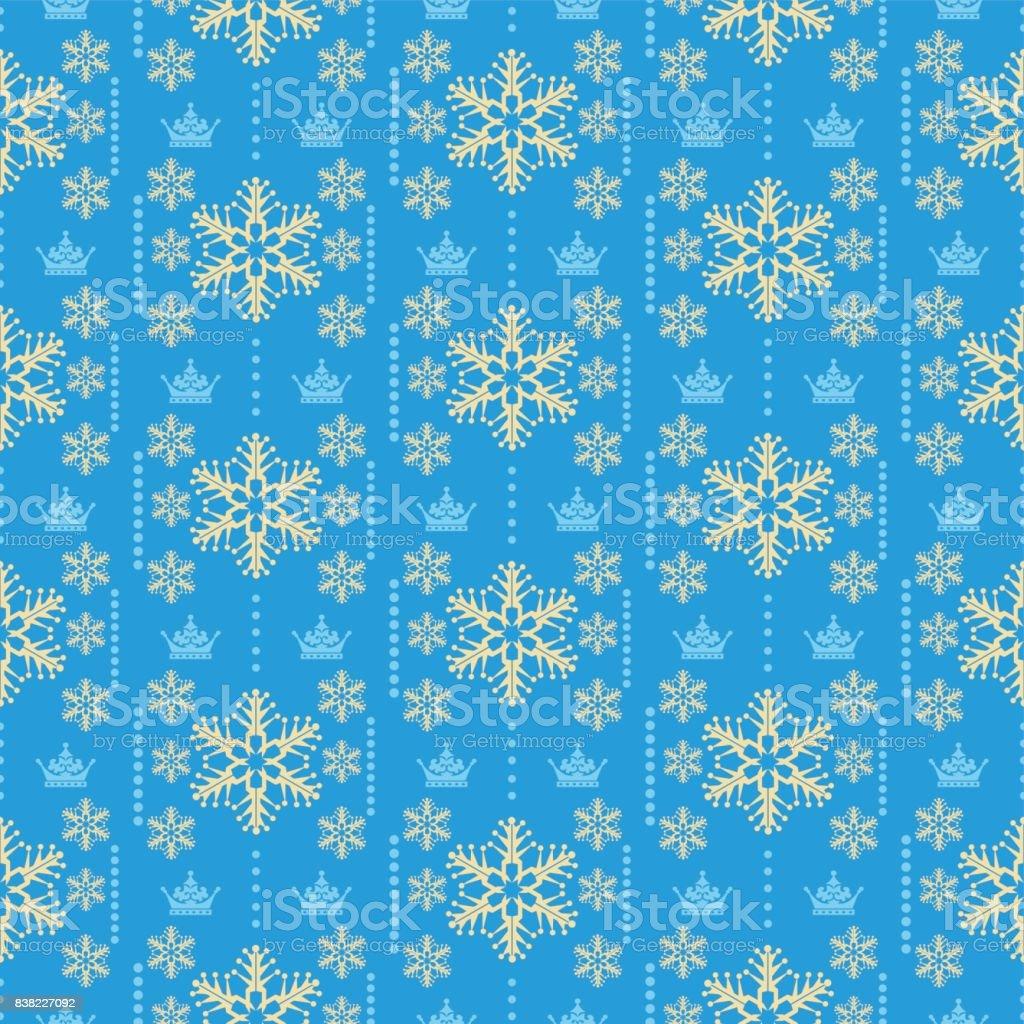 クリスマスの壁紙のシームレスなパターン レトロ背景ベクトル イラスト