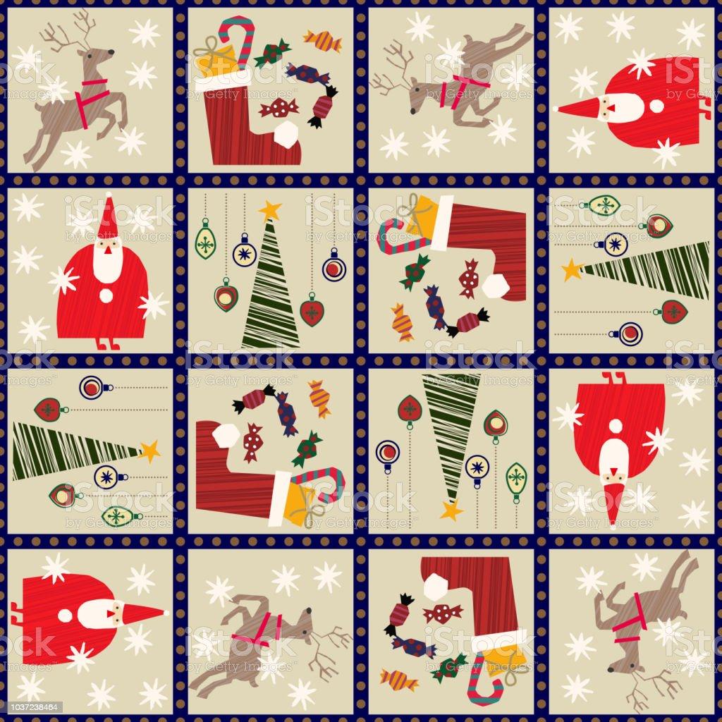 クリスマスの壁紙。シームレスな冬の包装紙。12 月の包装紙。かわいいデコレーション。クリスマスのシームレスなパターン。 ベクターアートイラスト