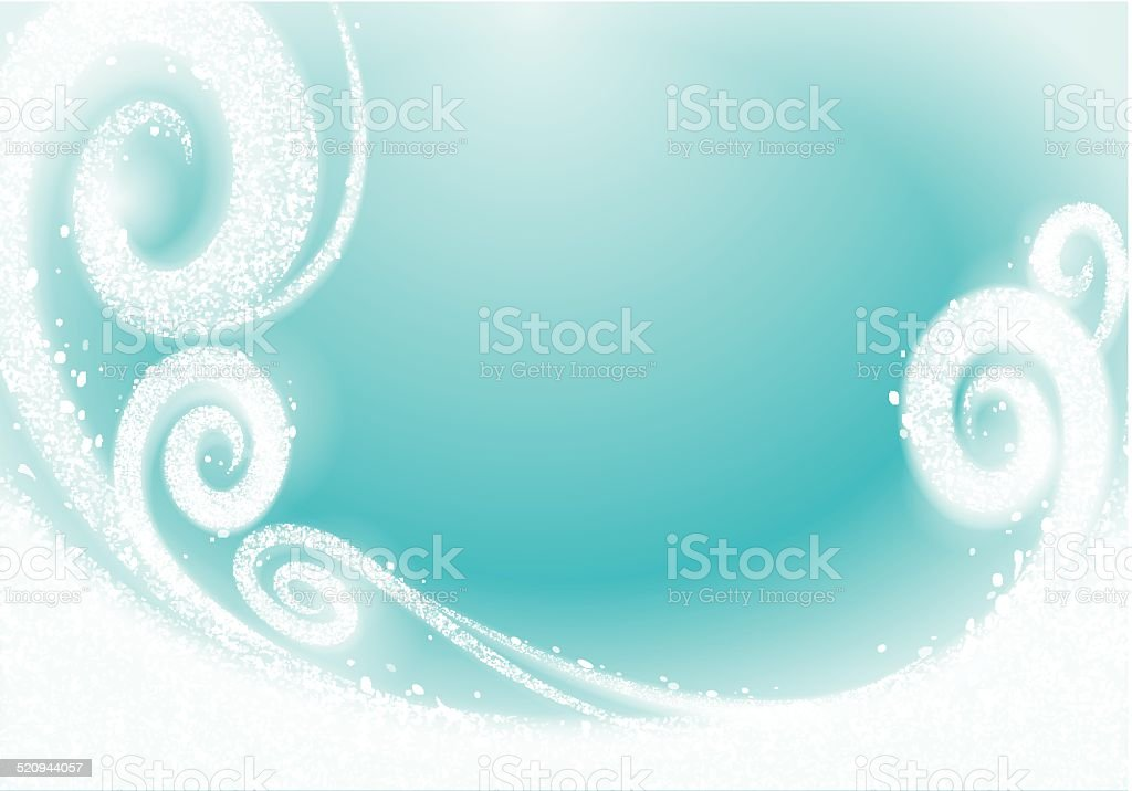 Christmas winter background vector art illustration