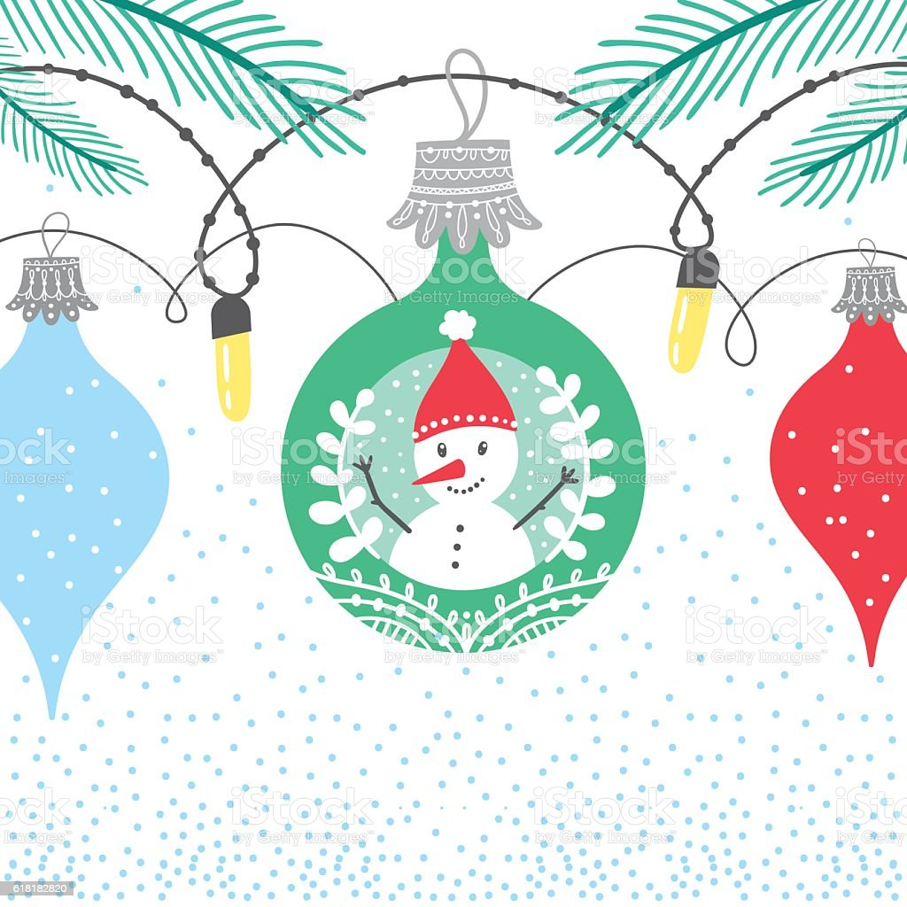 Christmas winter bubble card royalty-free christmas winter bubble card stock vector art & more images of backgrounds